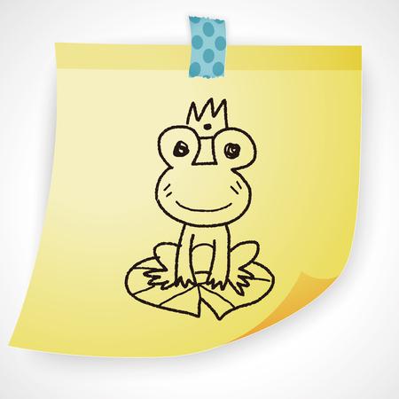 frog prince: frog prince doodle