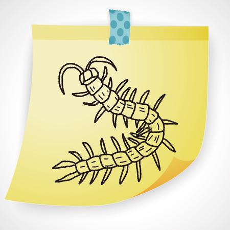 centipede: Centipede doodle
