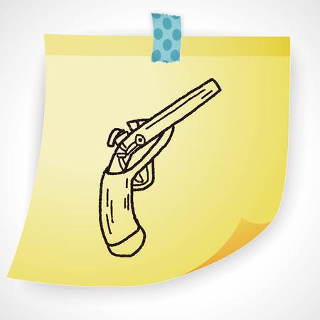creative shot: gun doodle