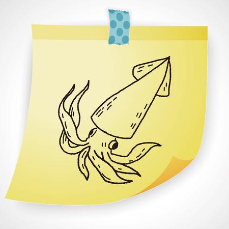 cuttlefish: Squid doodle