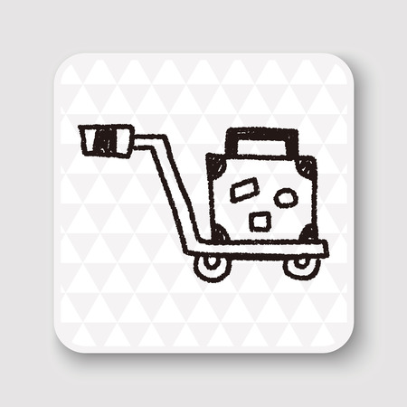 trolley: Trolley doodle drawing