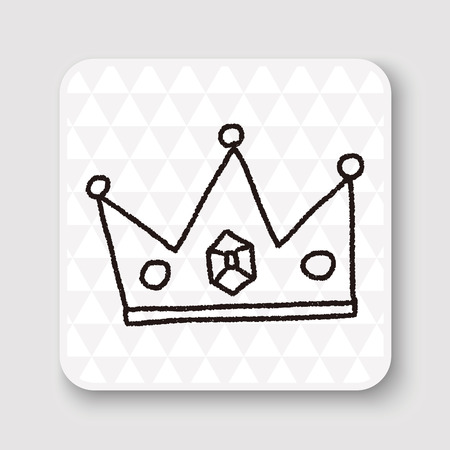prince princess: doodle king crown