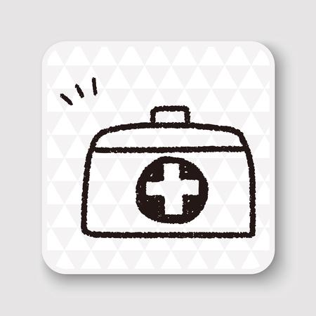 medicine box: doodle medicine box