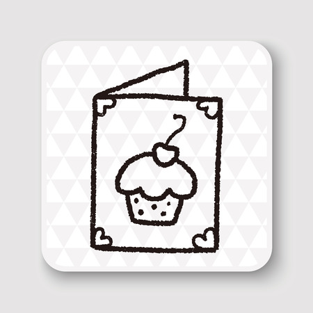 card: doodle card