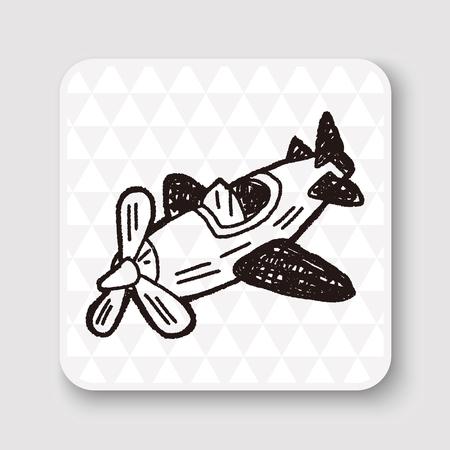 toy plane: Doodle Toy Plane