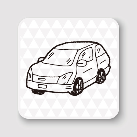 car: car doodle