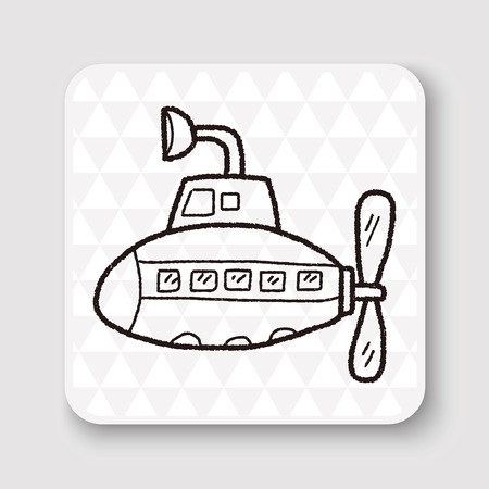 Submarine doodle