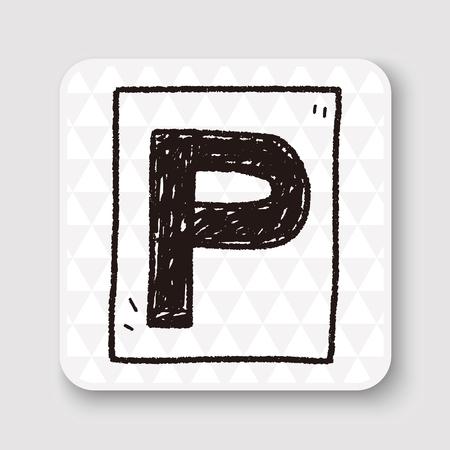 regulate: car park doodle