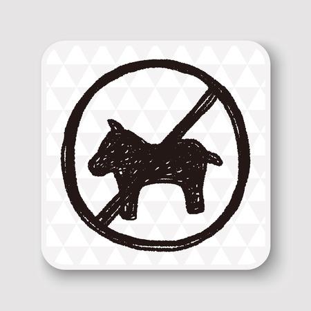dog allowed: no dog doodle