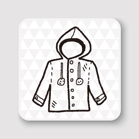 the trench: Coat doodle