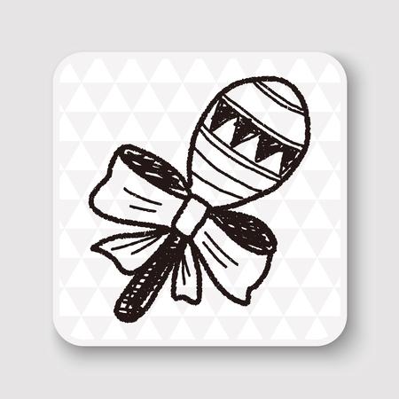 sonaja: traqueteo del doodle
