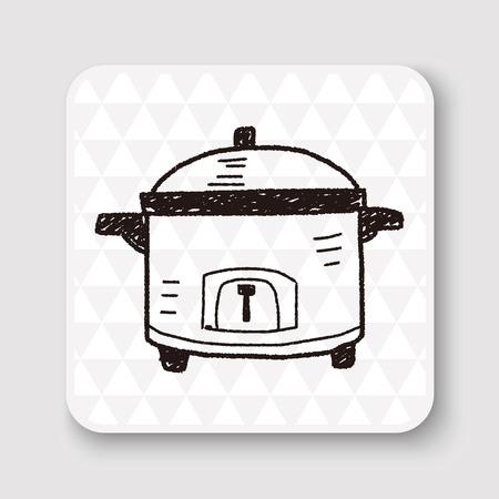 kuchenka doodle