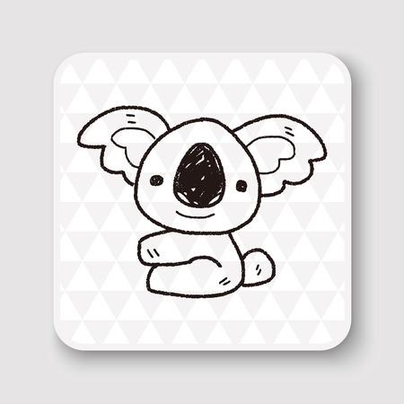 koala: koala doodle