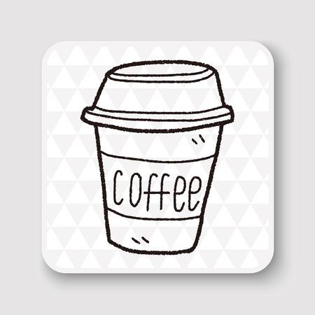 teak: coffee doodle