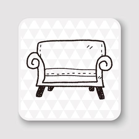 sofa doodle