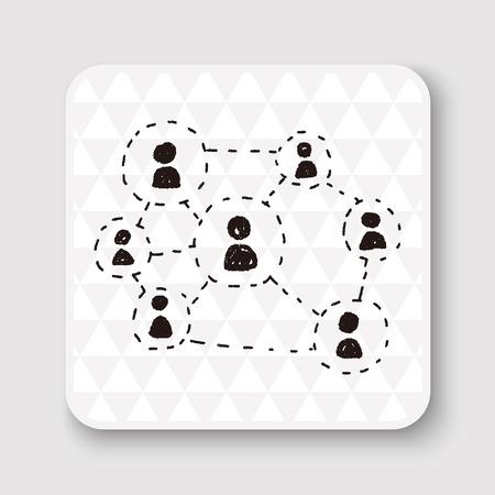 community people: social link doodle