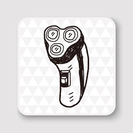 rasoir doodle