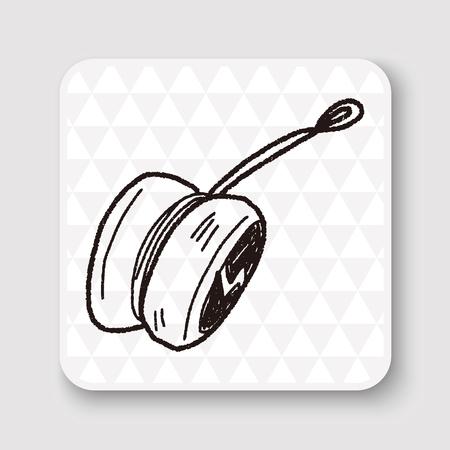 play yoyo: yo-yo doodle
