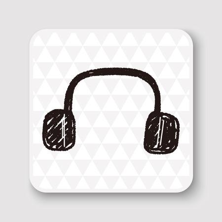 headphone: Doodle Headphone