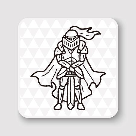 rycerz: Rycerz doodle