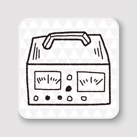 watt: electricity measurer doodle