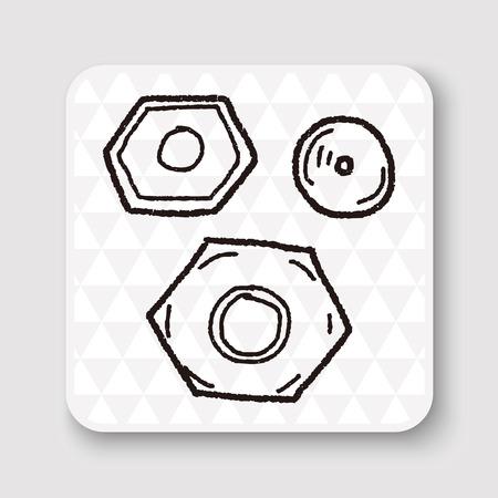 tornillo: tornillo del doodle