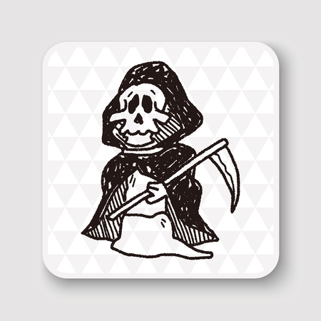 grim reaper: Grim Reaper doodle