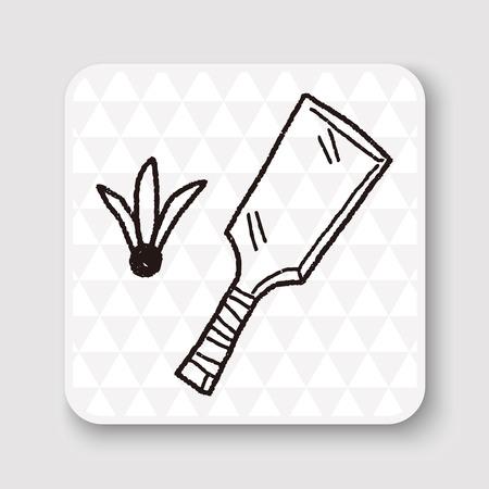 badminton sport symbol: japan Badminton doodle