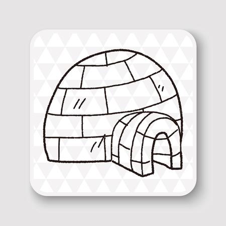igloo: Igloo doodle