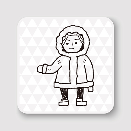 esquimales: Esquimales del doodle
