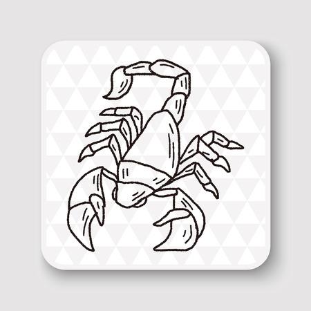 scorpion: Scorpion doodle