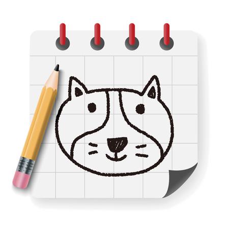 dog pen: dog doodle drawing