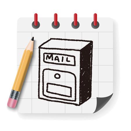 mailbox: Doodle Mailbox