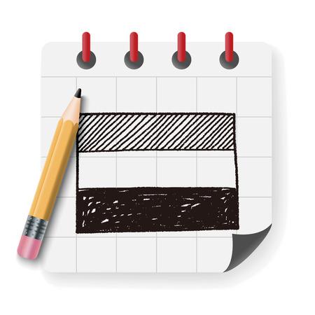 netherlands: netherlands flag doodle