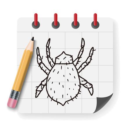 mite: mite doodle