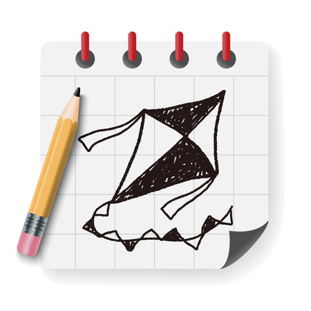 paper kites: Doodle Kite