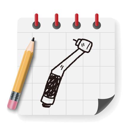 dentist drill: dentist drill doodle