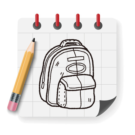 travel bags: doodle Travel Bags
