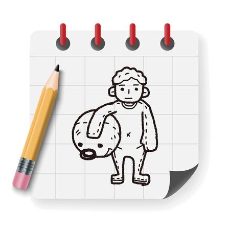 actor: actor doodle