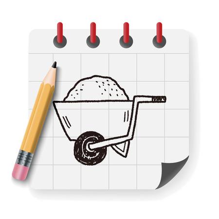 stroller: stroller doodle