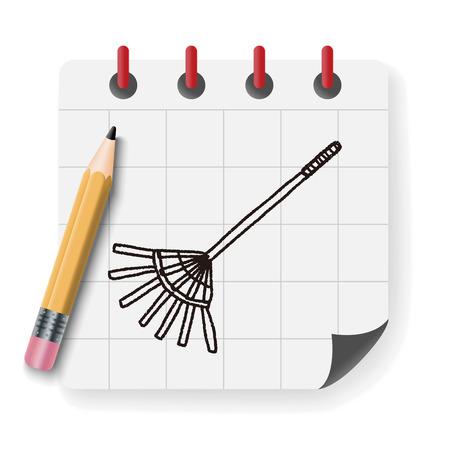 harrow: rake doodle