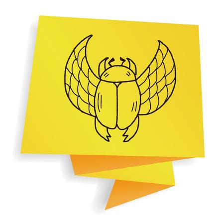 dung: Dung beetles doodle