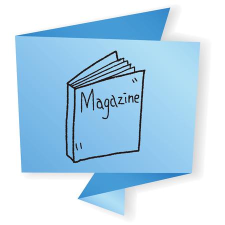 magazine: magazine doodle