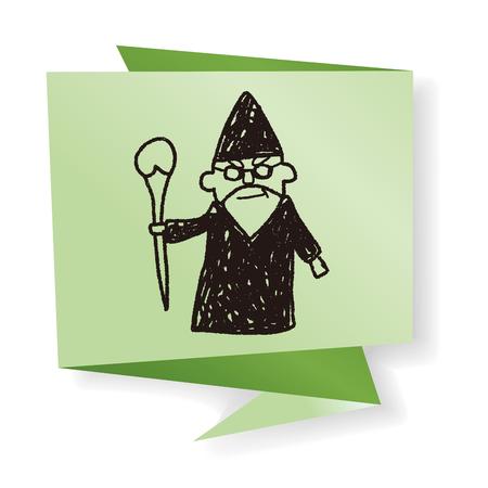mage: wizard doodle