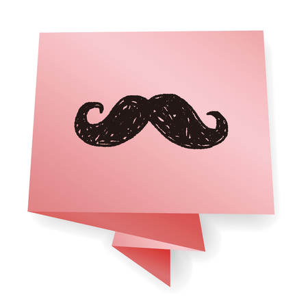 goatee: hipster  beard doodle Illustration
