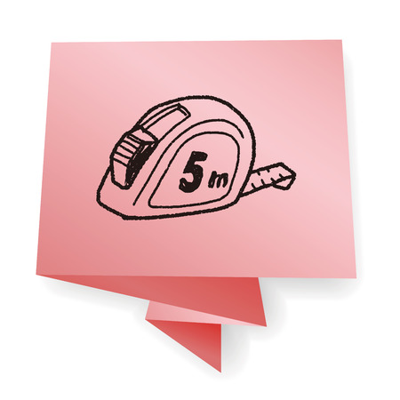 cintas metricas: doodle de cinta