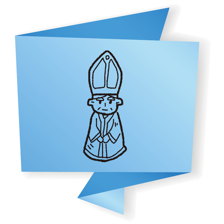 sinterklaas: bishop doodle