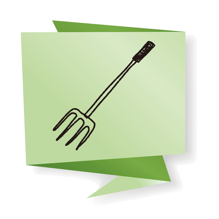 bales: fork doodle