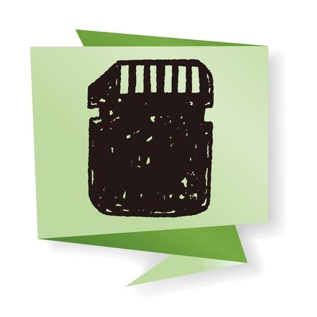 sd card: sd card doodle