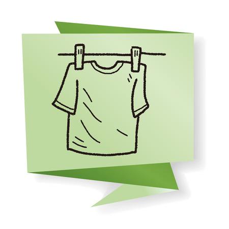 clothesline: clothesline doodle